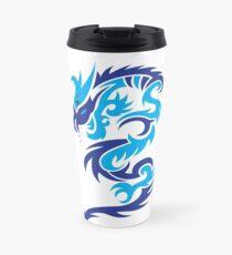 Blue dragon design  Travel Mug