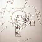 Petits Dessins Debiles - Small Weak Drawings#39 by Pascale Baud