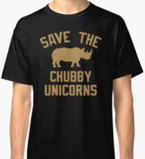 Save The Chubby Unicorns Classic T-Shirt