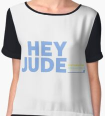 BEATLES - HEY JUDE Chiffon Top