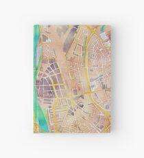 Olieverf kaart van Maastricht Hardcover Journal