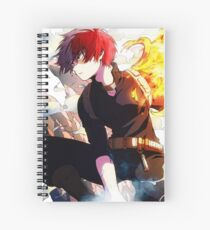Shouto Spiral Notebook