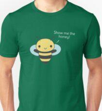 Kawaii and cute bee pun  T-Shirt