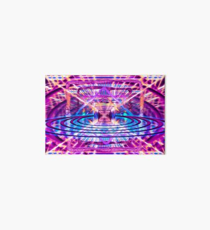Rave Vision Synesthesia - Psychedelic Geometric Art  Art Board