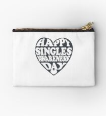Happy Singles Awareness Day Studio Pouch