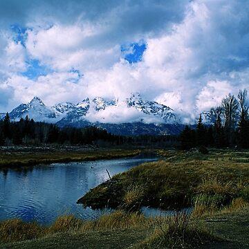 Snake River and Tetons, Grand Teton National Park by DanielleDodds