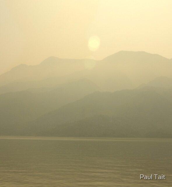 Yangstze Sunrise by Paul Tait