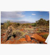 Australian Outback Desert Landscape Poster