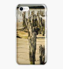 Bandon pier and beach iPhone Case/Skin