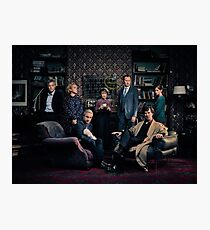 Sherlock Cast - Season 4 Photographic Print