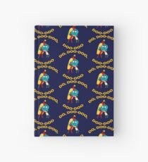 Hot Dog Guy and Gumball Awkwardly Hugging Hardcover Journal