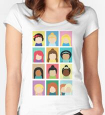 Princess Inspired Women's Fitted Scoop T-Shirt