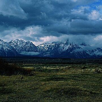 Teton Range, Grand Teton National Park by DanielleDodds