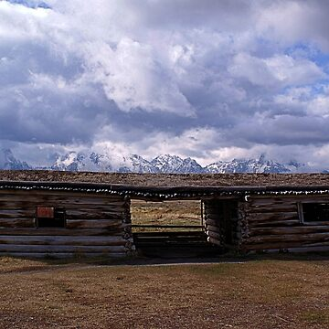 Cunningham Cabin, Grand Teton National Park by DanielleDodds
