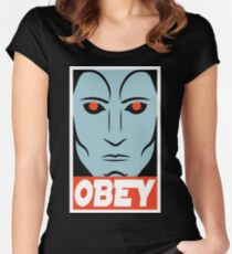 OBEY - Thrawn Women's Fitted Scoop T-Shirt