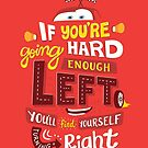 Go Hard Enough Left by Risa Rodil