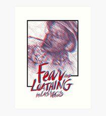 Fear & Loathing Art Print