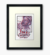 Fear & Loathing Framed Print