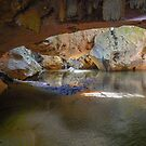 Caves Branch River, Belize by David Galson