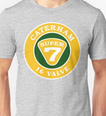 CATERHAM 16 Valve Super7 Unisex T-Shirt