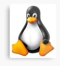 Linux Penguin – Tux Metal Print