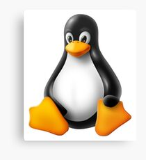 Linux Penguin – Tux Canvas Print