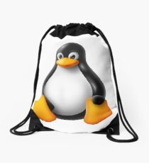 Linux Penguin – Tux Drawstring Bag