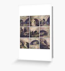 Hipstamatic Collage #11 [Coburg Lake] Greeting Card