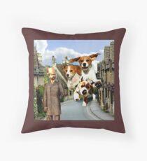 Hounds of the Baskervilles Throw Pillow