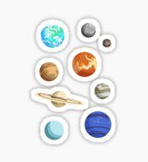 Planet Stickers Sticker