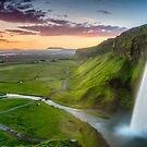 Seljalandsfoss by Randy  LeMoine