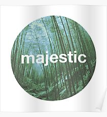 Unofficial Majestic Casual design bamboo Poster