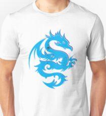 Blue dragon star  Unisex T-Shirt