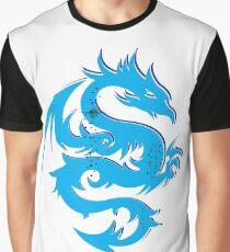 Blue dragon star  Graphic T-Shirt
