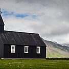 Black Church in Budir by Randy  LeMoine