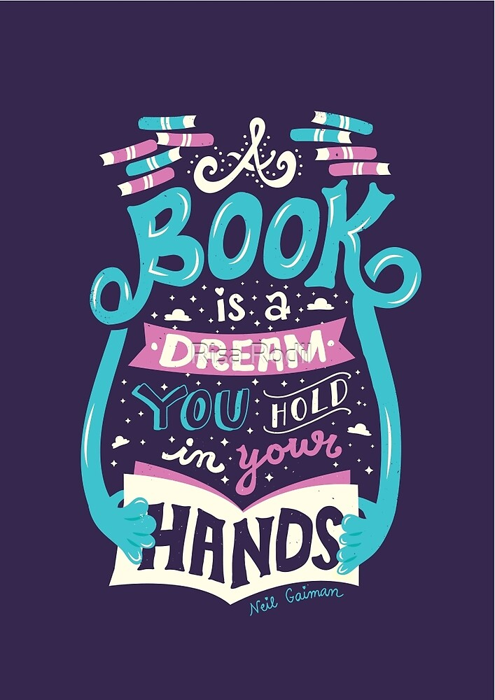 """Book is a dream"" by Risa Rodil 