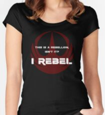 I Rebel Women's Fitted Scoop T-Shirt