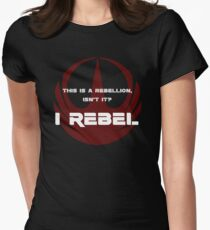 I Rebel Womens Fitted T-Shirt