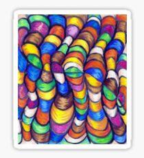 Wacky Wormz Sticker