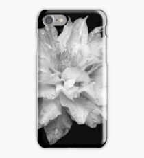 Artic Queen - Clematis 01 - Black and White Phtography iPhone Case/Skin