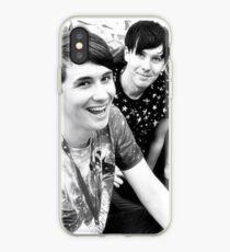 Dan and Phil (b&w) iPhone Case