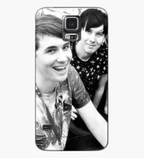 Dan and Phil (b&w) Case/Skin for Samsung Galaxy