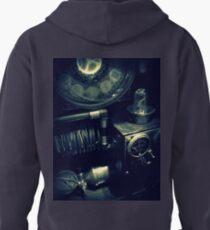 Steampunk Time Machine 1.1 Pullover Hoodie