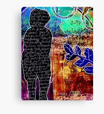 The Therapy of Art Journaling Canvas Print