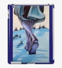 walk on the beach iPad Case/Skin