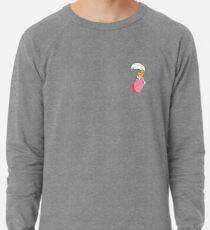 Pfirsich Sonnenschirm Leichtes Sweatshirt