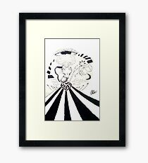 Sky Road Framed Print
