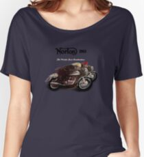 Norton Vintage TT Poster from 1963 Women's Relaxed Fit T-Shirt