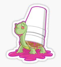 Slo-Turtle slap Sticker