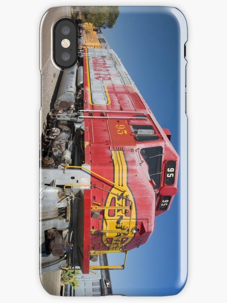 Santa Fe Train by Sue Leonard
